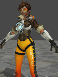 Overwatch Tracer Hologram Animation