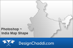 India Map Custom Shape by dannycg