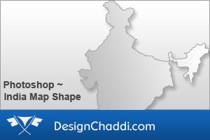 India Map Custom Shape by dannycg