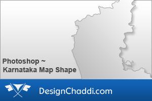 Karnataka Map Custom Shape by dannycg
