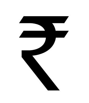 The New Rupee Symbol by dannycg