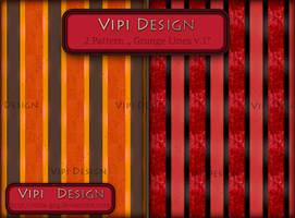 Pattern for photoshop - Grunge Lines v.1 by elixa-geg