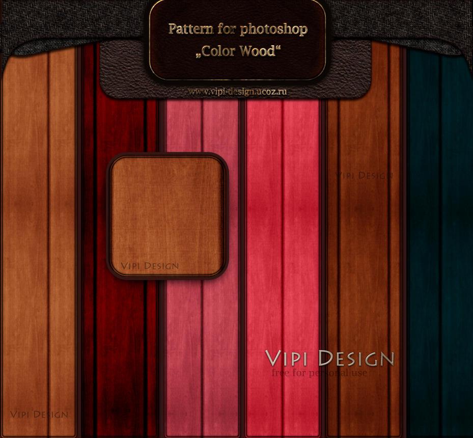 Pattern - 6 Colors Wood by elixa-geg