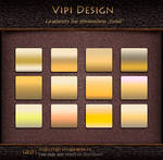 Gradients for photoshop - GRD Gold