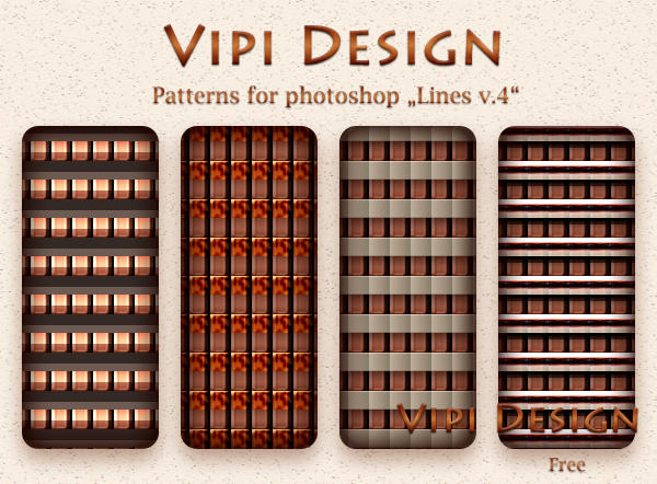Patterns for photoshop - Lines v.4 by elixa-geg