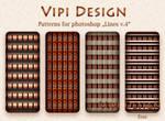 Patterns for photoshop - Lines v.4