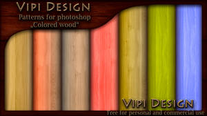 Patterns - Colored Wood