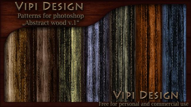 Patterns - Abstract wood v.1