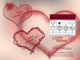 Valentines Brushes