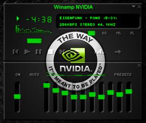 Nvidia Winamp Skin by vdk84