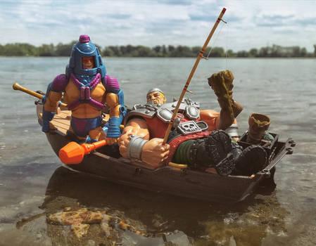 MOTU - Fishing buddies