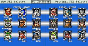 Mega Man 4 Stage Select Remake