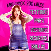 Mini Pack +200 Likes by ivethdiaz