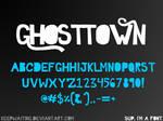 TTF FONT - GHOSTTOWN