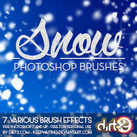 SNOW PS7 Brushes and IMG Pack