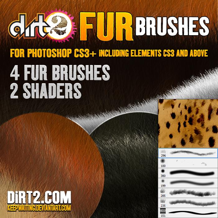 FUR BRUSHES - PHOTOSHOP CS3