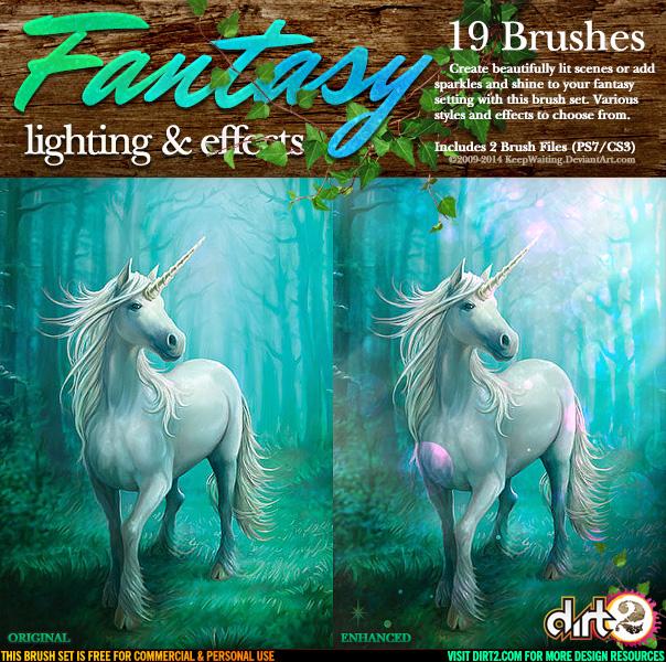 Fantasy Lighting Brush Kit by KeepWaiting