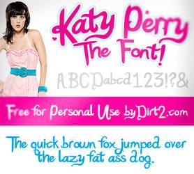 Katy Perry Font - Katy Berry