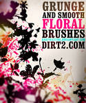 Floral Photoshop Brushes by KeepWaiting