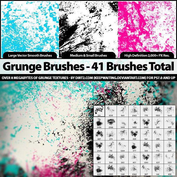 80s photoshop brushes