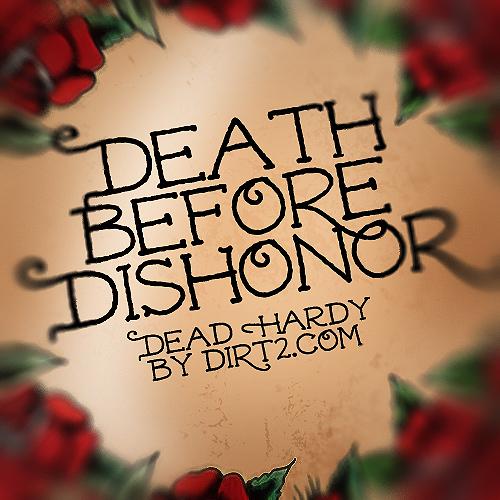 Dead Hardy - Ed Hardy Font