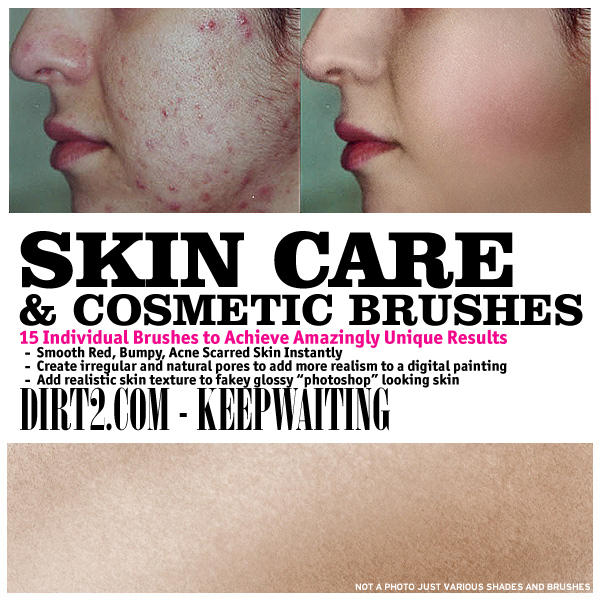 Skin Care and Cosmetic Brushes by KeepWaiting on DeviantArt