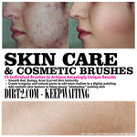 Skin Care and Cosmetic Brushes