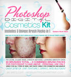 Skin and Cosmetic Brushes 3in1