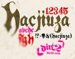 Hacjiuza - Free Font
