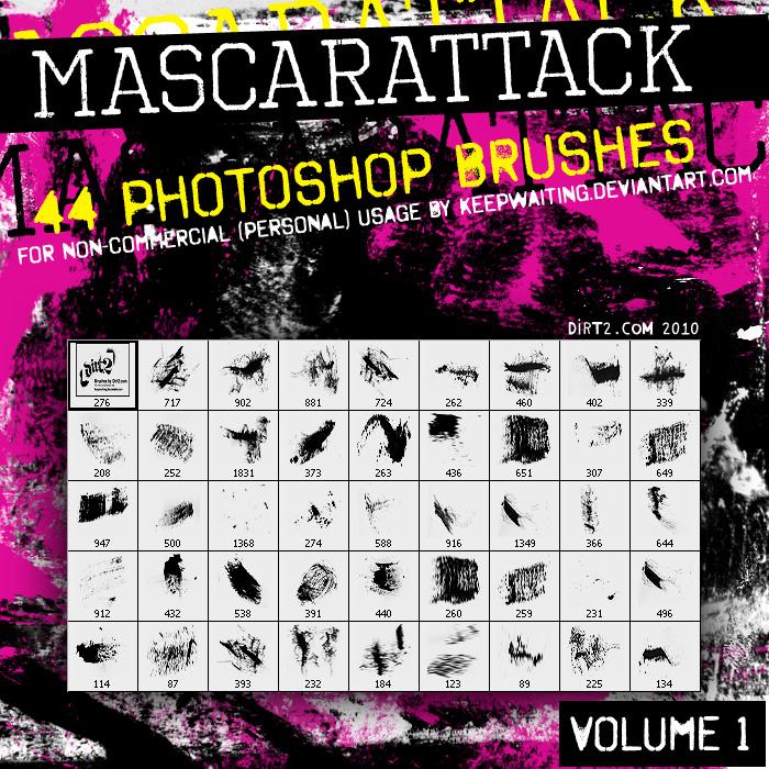 Dirt2 Mascarattack 44 Brushes