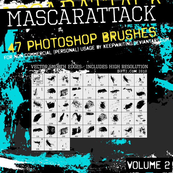Dirt2 Mascarattack2 47 Brushes