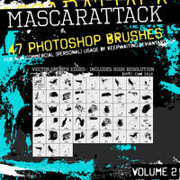 Dirt2 Mascarattack2 47 Brushes by KeepWaiting
