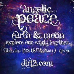 Angelic Peace - Font