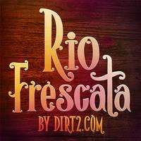 Rio Frescata (Free Font) TTF/OTF by Dirt2/KW