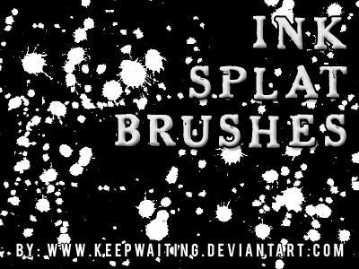 Ink Splats 2 by KeepWaiting