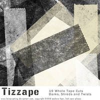 Tizzape Tape Brushes