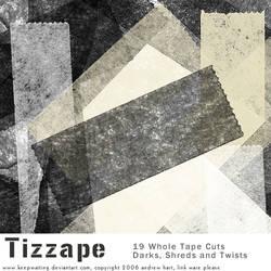 Tizzape Tape Brushes