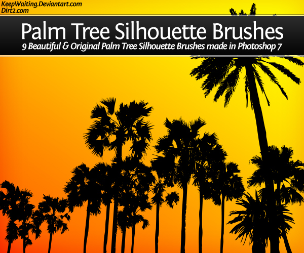 Palm Tree Set series 1