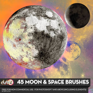 MOON BRUSHES for PS7 v.2