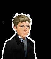 John's Emotion Character Portraits by SherlockTheGame