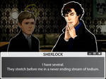 SHERLOCK: THE GAME IS ON (Dialogue System)