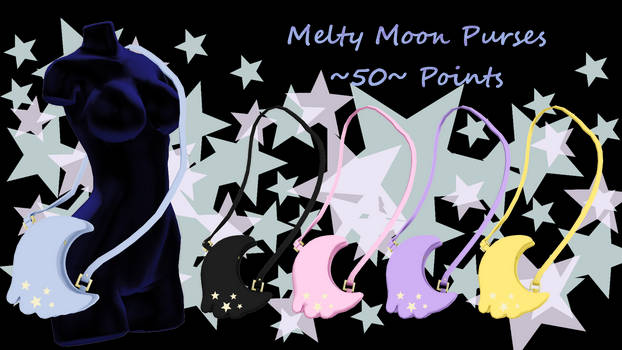 MMD Melty Moon Purse ~50 points~ P2U