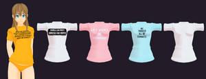 MMD Shirt Pack 1 DL