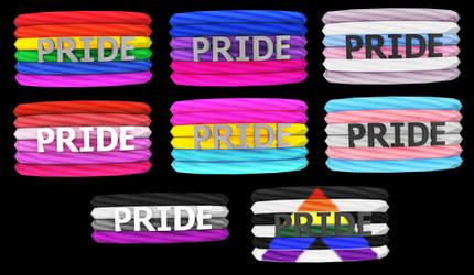 MMD Pride Bracelets DL by Arneth-Myndraavn
