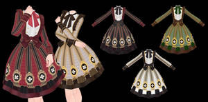 MMD Lolita Dress DL ~450 points P2U~