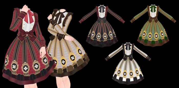 MMD Lolita Dress DL ~450 points P2U~
