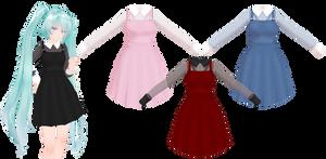 MMD Mesh Dress DL