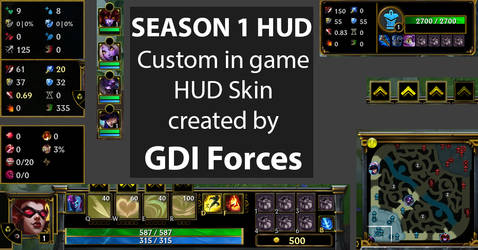 Season 1 in game HUD (Currently not working by GDIForces