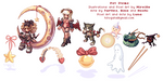 Ragnarok Pet Items by Cheila