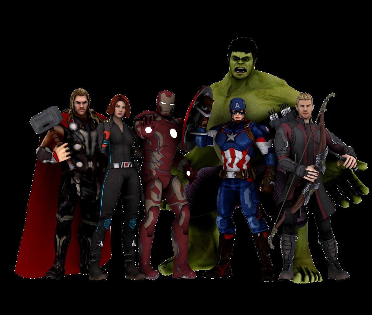 The Avengers Pack DL By JerichoAkemi On DeviantArt